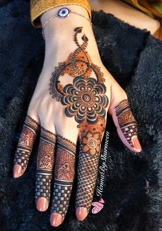 Kashee's Mehndi Designs, Henna Tattoo Designs Simple, Beginner Henna Designs, Latest Bridal Mehndi Designs, Full Hand Mehndi Designs, Mehndi Design Photos, Wedding Mehndi Designs, Mehndi Designs For Fingers, Simple Henna