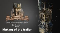 """Making Of """"The Cliff Tower"""" teaser"""