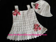 Free+Crochet+Baby+Dress+Patterns | Crochet baby Tunic dress