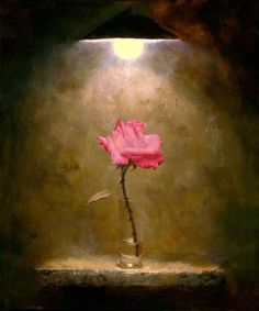 Alexei Antonov, Rose in the Darkness. I Love this so, dark but, very beautiful!