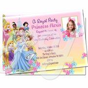 Disney Princess Custom Personalized invitations