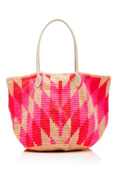 Large Beach Bag With Top Handle by SOPHIE ANDERSON Now Available on Moda Operandi