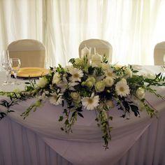 Dekoracja Sali Weselnej W07 - Salonik kwiatowy Victoria- Salonik kwiatowy - Kwiaciarnia internetowa - Bielsko - Śląsk