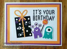 Birthday card by Laura Beacham