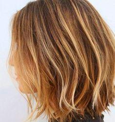 Blonde Highlights: Bobs and Medium Length Hair