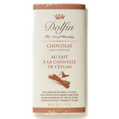 Dolfin Milk Chocolate Bar with Cinnamon70g -- Check out the image by visiting the link.