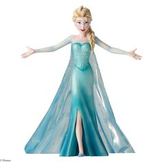 4049616 Elsa Let It Go Figurine- Disney Showcase recreates the show stopping cinematic moment when Elsa declares to the world she's embracing her true self #elsa #frozen #disney