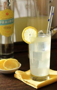 Italian Lemonade with Vodka, Gin and Orange Liqueur