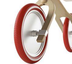 Shock absorbing balance bike «Brum Brum» - see more on blog