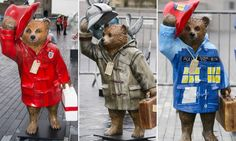 The Paddington Trail has been launched ahead of the new Paddington movie with Paddington Bears all over London.  They have been designed by Peter Capaldi, Benedict Cumberbatch, Emma Watson and David Beckham, among many.