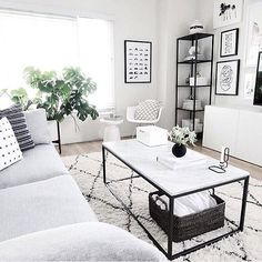 We love this look from Homey Oh My, featuring the Vitra RAR rocking Chair and Hay Lup Candle Holder