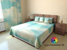 Foto - Tagesdecke Bettüberwurf Sofaüberwurf in Luxus Fotodruck 3D Maßanfertigung
