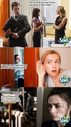 Out of context Sims conversations…