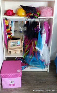 Garderobe aus Billyregal – IKEA Hack – Jeder kann nähen