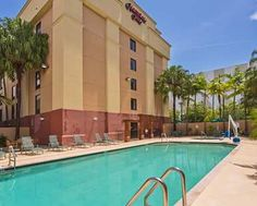 Hampton Inn Miami Dadeland Hotel, FL - Outdoor Pool