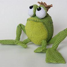 Henri le frog amigurumi crochet pattern by IlDikko free
