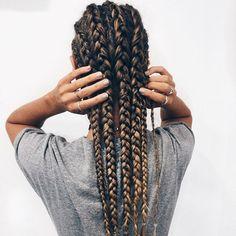 peinados trenzas