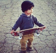 My future boyfriend Skater baby boy