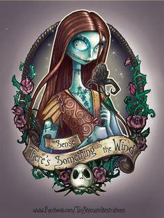 Tim Shumate illustrations Sally Nightmare Before Christmas