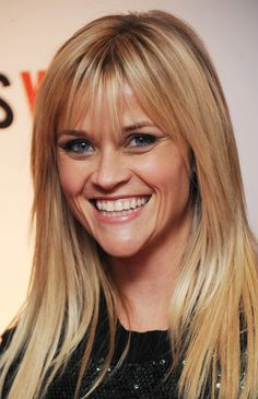 Reese Witherspoon chose to adopt the bangs to cover up her new scar on her forehead.