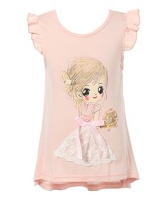 Look what I found on #zulily! Pink Little Girl Tee - Infant, Toddler & Girls #zulilyfinds