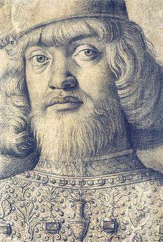 Andrea Mantegna - Portrait of Francesco Gonzaga [1490-99]