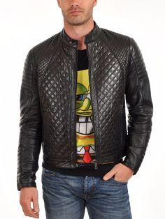 Looking for Men's Stylish Genuine Lambskin Motorcycle Biker Leather Jacket 53 ? Check out our picks for the Men's Stylish Genuine Lambskin Motorcycle Biker Leather Jacket 53 from the popular stores - all in one. Lambskin Leather Jacket, Biker Leather, Leather Men, Leather Jackets, Quilted Leather, Black Leather, Leather Coats, Motorcycle Leather, Stylish Mens Fashion