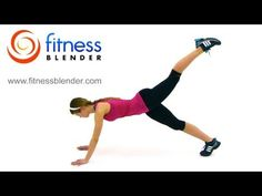 Fitness Blender Total Body Boot Camp - Bodyweight Workout to Tone Up Fast