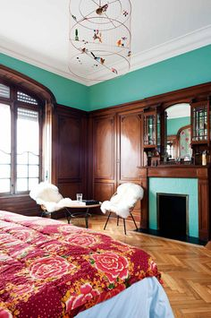 19th Century Modern French Apartment. French ApartmentContemporary  ApartmentContemporary DesignHome BedroomBedroom ...