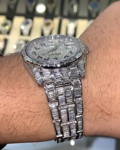 Stylish Watches, Luxury Watches, Cool Watches, Flood Watch, Mens Digital Watches, Hip Hop Chains, Freezer Burn, Dream Engagement Rings, Grillz