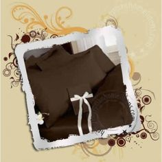 8 inches Deep Fitted Sheet Egyptian Cotton Solid Chocolate