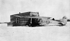 Hamilton Metalplane H-47 (Reg 7791, NWA 21) - Fargo ND engine repair under make shift hanger during the winter. #boeing #metalplane #vintage #vintageairplane #vintageaircraft #anitqueaircraft #7791 #Hamilton