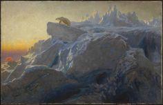 Beyond Man's Footsteps Briton Riviere exhibited 1894