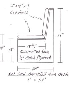Window Seat Plans, an easy build window seat - R-Witherspoon