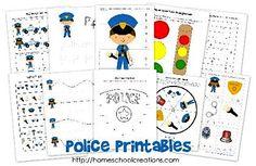 FREE Police Educational Printable Pack