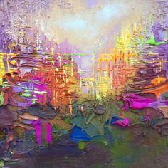 Abstract Workshop #2: Online Painting Workshop by Stephen Lursen.