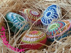 Crochet pattern Easter egg,  Catania cotton Easter Crafts,  Easter Bird Nest, Easter table decorations #Easter #Day #egg #decor #craft #ideas www.loveitsomuch.com
