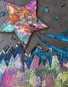 Cosmic Dust Susan Crocenzi scmosaics.com