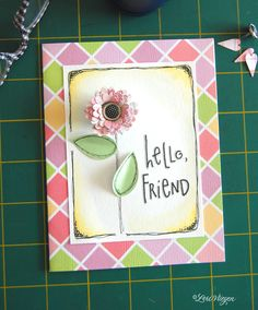 i was roaming the aisles of my favorite craft store this past weekend, and i came across this punch that creates really cute paper fl...