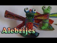 Manualidades para Niños: Alebrijes// DIY Mexican Crafts - YouTube