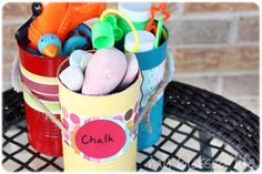"""Summer Social"" Guest Project -- Make a Summertime Activity Caddy!! {tutorial}"