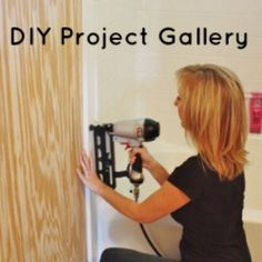 DIY Project Gallery - i love this site Sand & Sisal. Lots of good information on diy projects that are totally doable by me.