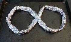 DIY Foil Roasting Rack