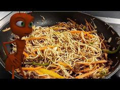 Furnici in copac, reteta chinezeasca pas cu pas - YouTube Japchae, Cooking, Ethnic Recipes, Passion, Food, Youtube, Baking Center, Eten, Meals