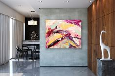 Items similar to Large Modern Wall Art Painting,Large Abstract wall art,painting colorful,xl abstract painting,canvas wall art on Etsy Large Abstract Wall Art, Large Canvas Art, Abstract Canvas, Canvas Wall Art, Painting Canvas, Large Painting, Painting Abstract, Acrylic Canvas, Oversized Canvas Art