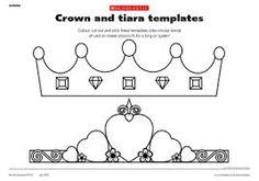 Make A Crown! - Free Printable Crown Template   Pinterest   Kings ...