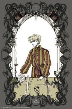 Bizenghast Tarot Cards by M. Alice Legrow