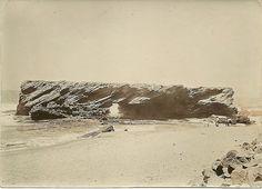 1915c Cave Rock Bluff, Durban News South Africa, Durban South Africa, Kwazulu Natal, Sun City, Historical Society, Historical Photos, East Coast, Cave, Old Things
