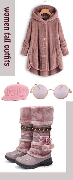 Newchic Fashion and Chic Style Winter Outfit Set.Try Some You Want Right Now! Newchic Fashion and Chic Style Winter Outfit Set.Try Some You Want Right Now! Winter Outfits, Casual Outfits, Casual Shoes, Pretty Outfits, Beautiful Outfits, Winter Stil, Winter Mode, Moda Plus Size, New Chic