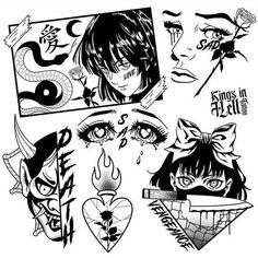 Spooky Tattoos, Dope Tattoos, Body Art Tattoos, Tattos, Tattoo Design Drawings, Tattoo Sketches, Tattoo Designs, Tattoo Ideas, Kritzelei Tattoo